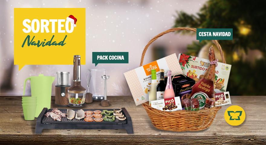 SORTEO DE NAVIDAD (Pack cocina + Cesta de navidad)