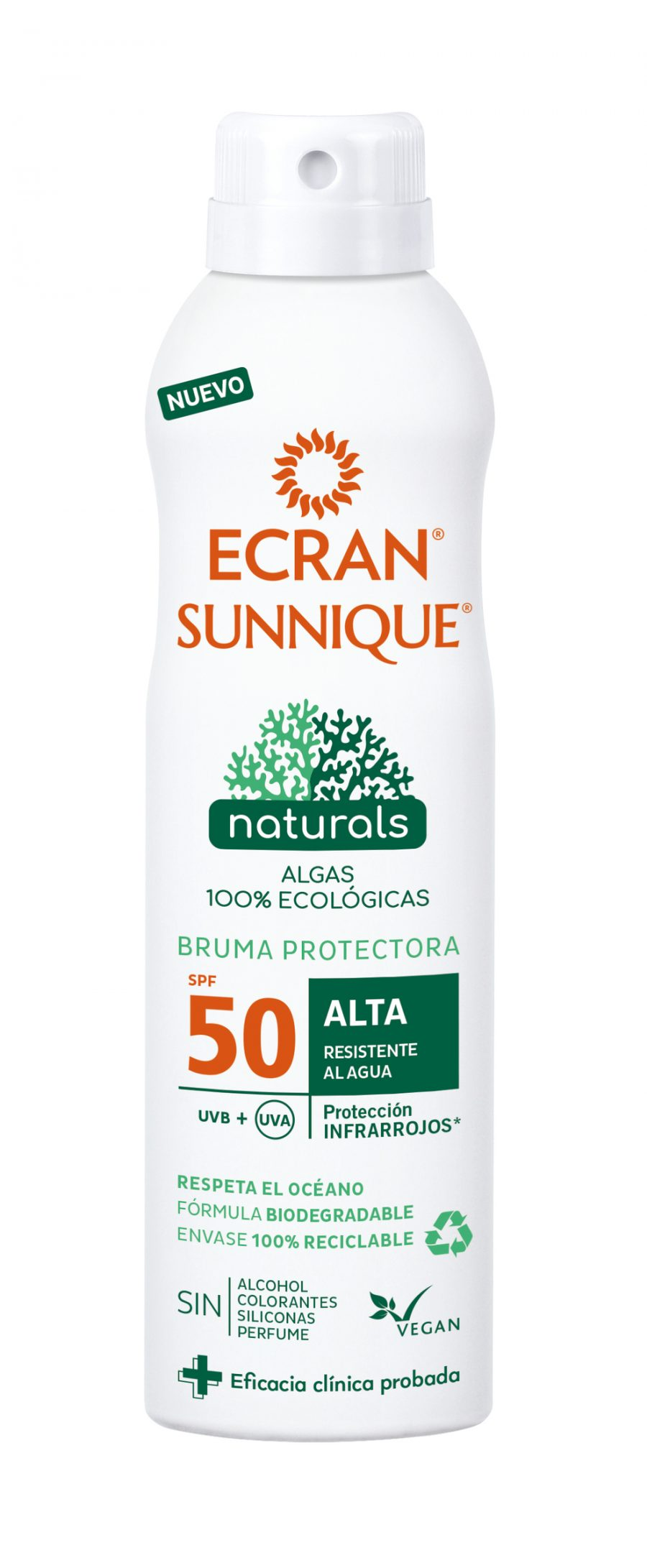 BRUMA PROTECTORA NATURAL ECRAN SPF 50